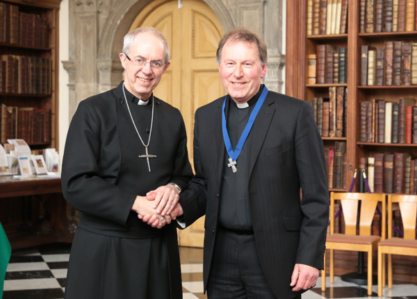 Former Church of Ireland Dean of Belfast John Mann glorying in his shame with ecumenical award