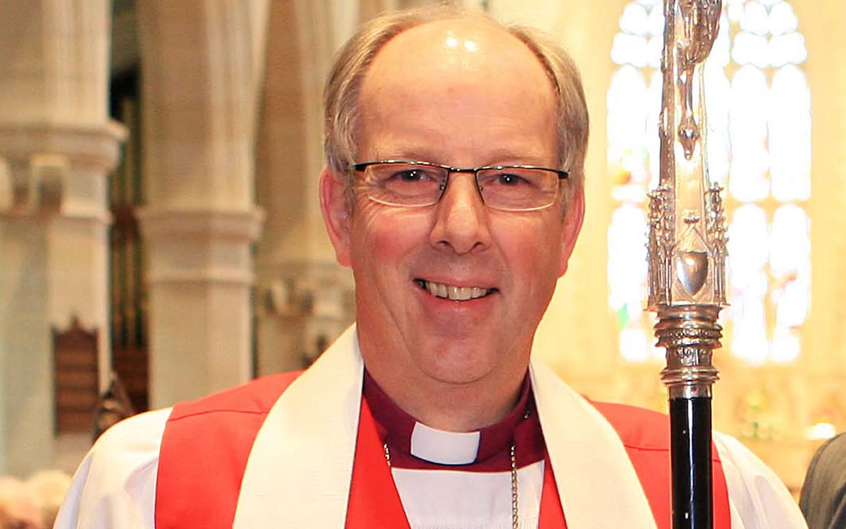 Church of Ireland Bishop Ken Good promotes 'unity' in two Romanist cathedrals