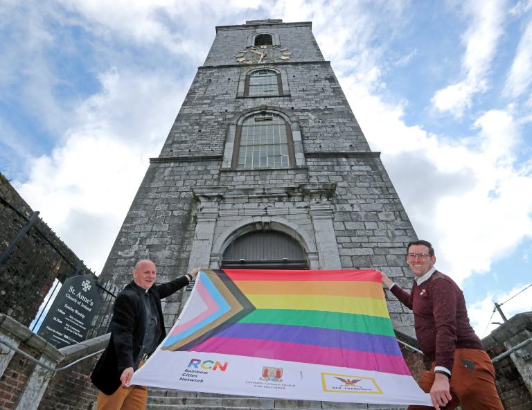 Pathetic Church of Ireland promote 'LGBTI+ AwarenessWeek'